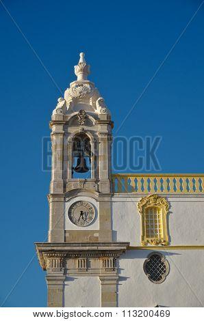 Clock of the church of Carmel