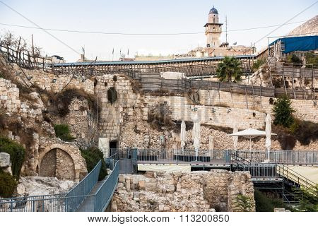 Western Wall Excavation Site, Jerusalem