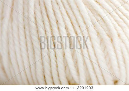 White Woolen Clew