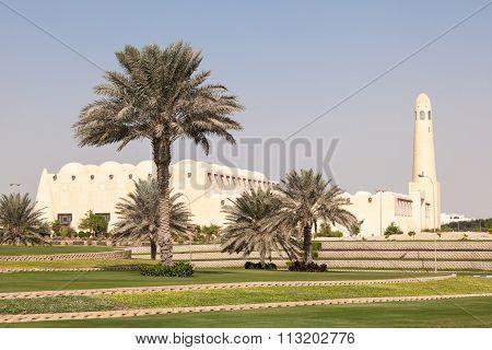 Grand Mosque In Doha, Qatar