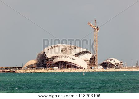 New Mosque Construction In Doha, Qatar