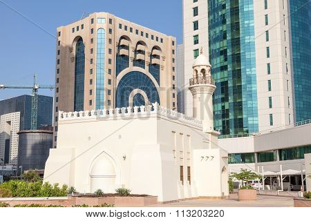 Mosque Downtown In Doha, Qatar