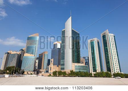 Doha Downtown Buildings, Qatar