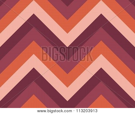 Seamless geometric strip pattern. Stripy texture. Zig-zag line background. Diagonal strips. Vinous,