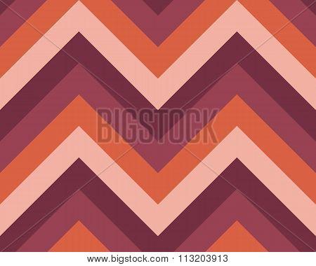 Seamless geometric strip pattern. Stripy texture. Zig-zag line background. Diagonal strips. Vinous,