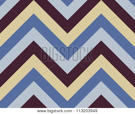 Seamless geometric strip pattern. Stripy texture. Zig-zag line background. Diagonal strips. Contrast