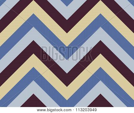 Seamless geometric strip pattern. Stripy texture. Zig-zag line background. Diagonal strips. Contrast