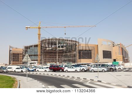 Twar Mall Construction Site In Doha, Qatar