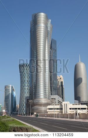 International Islamic Tower In Doha, Qatar