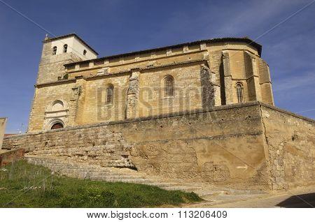 Santa Maria Del Castillo, Fromista, Palencia
