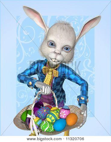 der Osterhase hat Eier zu teilen!