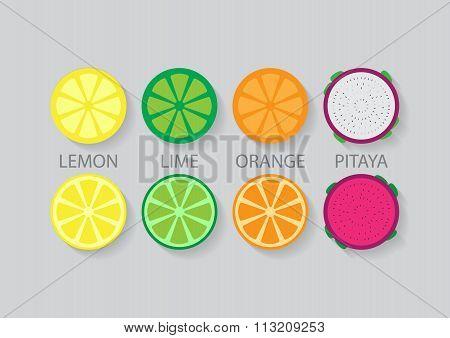 Mixed Slide Fruit