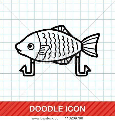 Fishing Bait Doodle