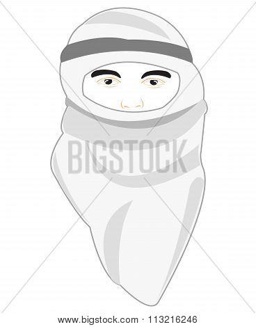 Arab in national cloth