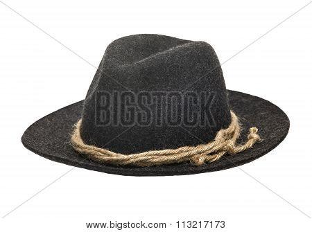 Traditional Felt Hat Gray