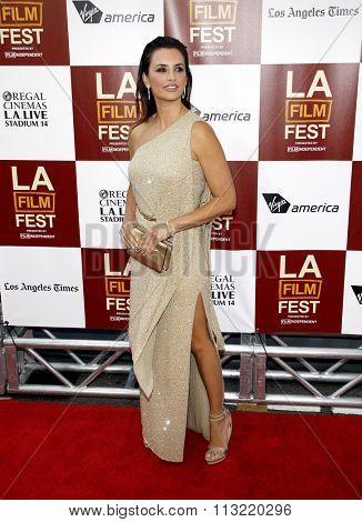 LOS ANGELES, CALIFORNIA - June 14, 2012. Penelope Cruz at the 2012 Los Angeles Film Festival premiere of