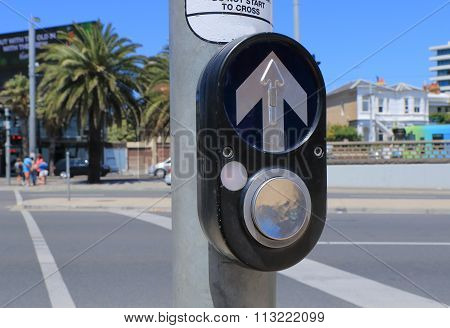 Pedestrian crossing Australia