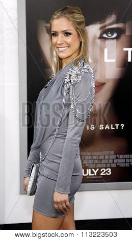 HOLLYWOOD, CALIFORNIA - July 19, 2010. Kristin Cavallari at the Los Angeles premiere of