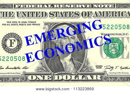 Emerging Economics Concept
