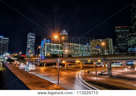 Downtown Dallas In HDR