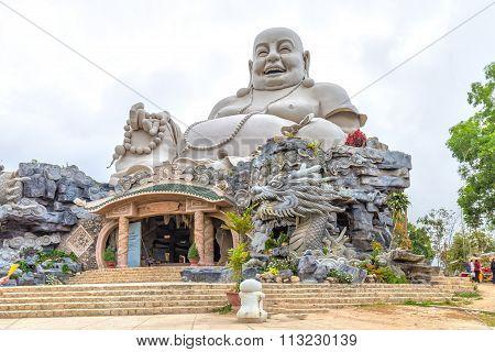 Architecture biggest Maitreya Buddha Southeast Asia