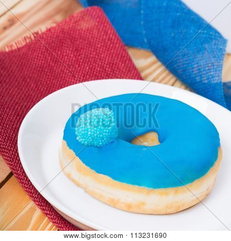Tasty Sweets - Blue Donut