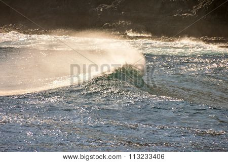 BIg Wave in the Ocean