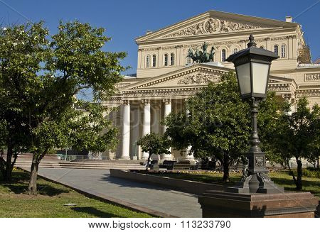 Moscow, Big (bolshoy) Theatre