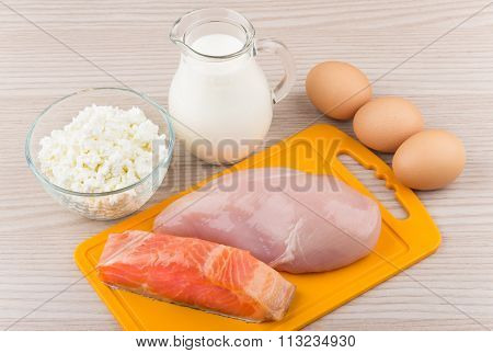 Useful Products With A High Content Of Protein