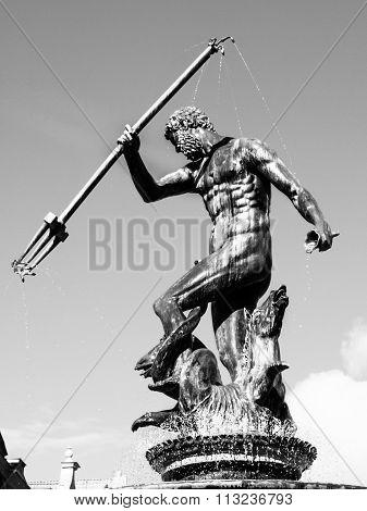 Statue of Neptune in Gdansk