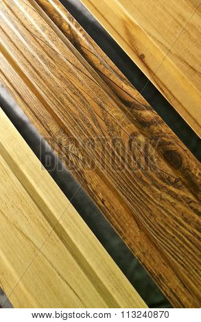 Texture Of The Treated Wooden Planks