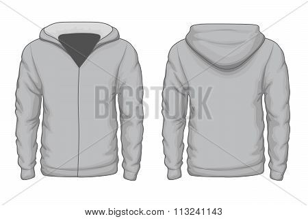 Hoodies shirt vector template