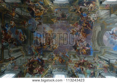 St. Ignatius Of Loyola Trompe L'