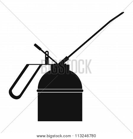 Black extinguisher icon