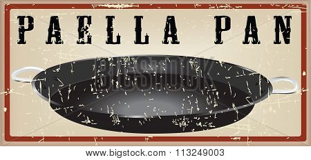 Frying Pan For Cooking Paella