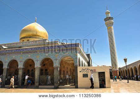 Sayeda Zeinab shrine in Syria