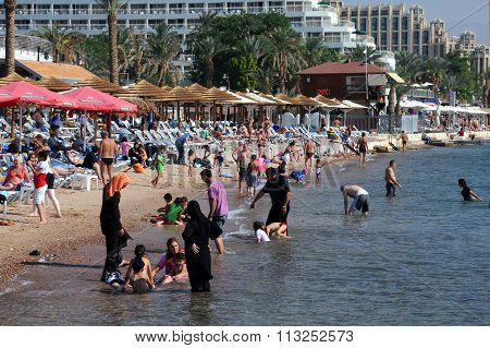 Beach In Eilat