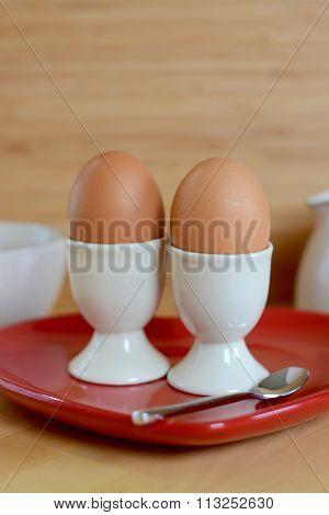 Breakfast Boiled Eggs