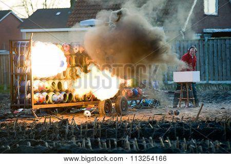 Carbide Explosion