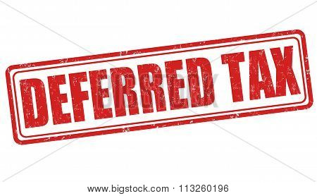 Deferred Tax Stamp