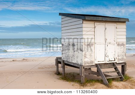 Beach Hut In Calais