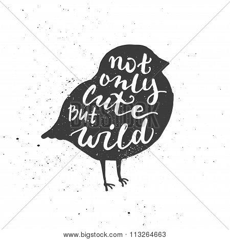 Bullfinch lettering poster