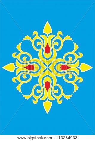 Oriental pattern.eps
