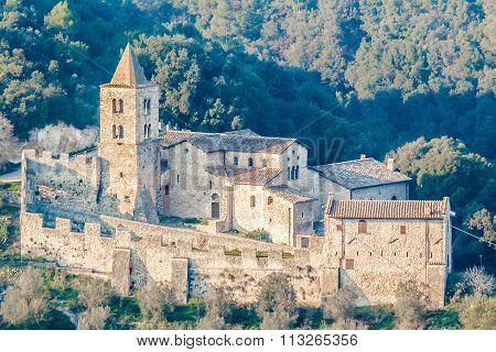 Abbey Of San Cassiano, Narni, Italy