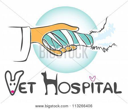 Pet Care For Vet Dog Leg Splint