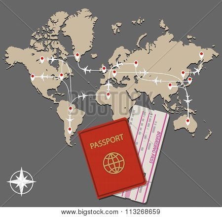 map jet routes passport