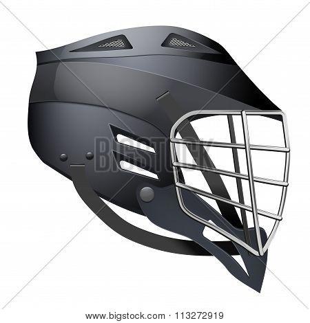 Lacrosse Helmet Side View