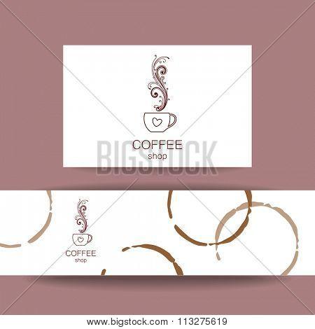Coffee shop, Espresso logo,Coffee shop logo,Vector Logo Template.