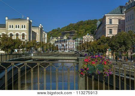 River Tepla In Karlovy Vary