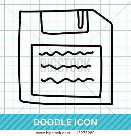 Floppy Disk Doodle
